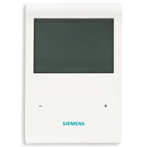 thermostat d 39 ambiance programmable siemens rde100. Black Bedroom Furniture Sets. Home Design Ideas