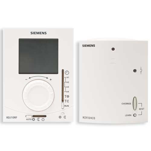 thermostat d 39 ambiance journalier sans fil 1 r cepteur siemens. Black Bedroom Furniture Sets. Home Design Ideas