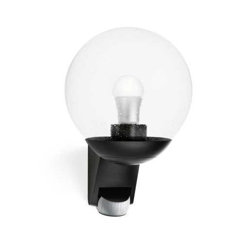 Luminaire Exterieur Avec Detecteur Mouvement luminaire extérieur à détection steinel e27 noir l 585 s - 005535