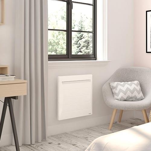 Radiateur MOZART Digital 750W Blanc horizontal