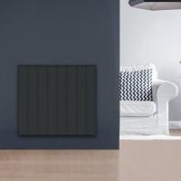 CHAUFELEC Manon Radiateur connecté à inertie réfractite horizontal gris 1500W - BJN2225SEHS