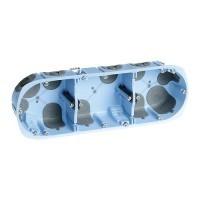 EUROHM XL Air'métic Boite encastrement triple étanche à l'air P40 E71 - 52066