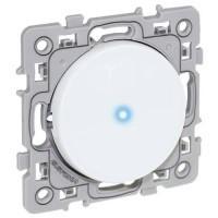 EUROHM Square Bouton poussoir lumineux/témoin blanc - 60205