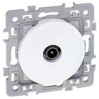 Prise TV EUROHM Square blanc - 60264