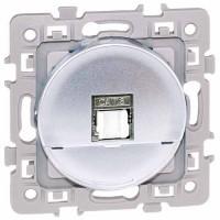 EUROHM Square Prise RJ45 grade 1 catégorie 6 UTP silver - 60471