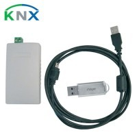 HAGER KNX Kit logiciel pour serveur IP Domovea avec interface USB/KNX - TJ701A