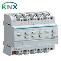 HAGER KNX Actionneur de commutation 10 sorties multifonctions 10A 230V - TXA610B