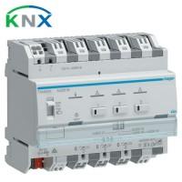 HAGER KNX Variateur universel 3 sorties 300W 230V - TXA663A