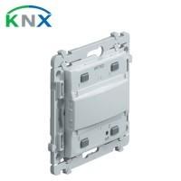 HAGER KNX Kallysta Bouton poussoir KNX bus 2 touches - WKT302