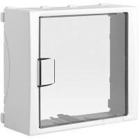 IKEPE Habillage pour platine compteur Linky - CBE et disjoncteur de branchement 13 modules