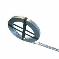 ING FIXATIONS Feuillard en acier zingué perforé 20x0,6mm L25m - A190010