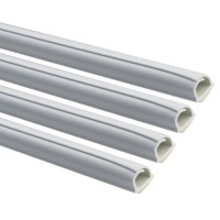 INOFIX Cablefix Gaine adhésive 5,5 x 5 mm - Blanc