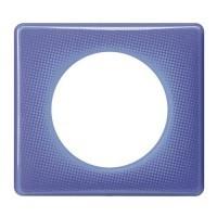 LEGRAND Céliane Plaque Memories 1 poste 90's violet - 066661