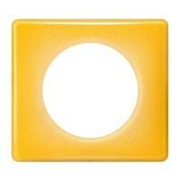 LEGRAND Céliane Plaque Memories 1 poste Today jaune - 066671