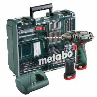 METABO Perceuse visseuse à percussion sans fil 10,8V 2x2Ah + coffret - 600385870
