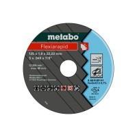 METABO Disque à tronçonner D125mm pour meuleuse d'angle - Lot de 10 - 616099000