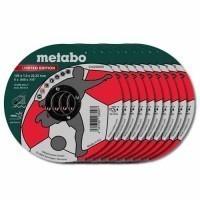 METABO Disque à tronçonner D125mm acier/inox - Lot de 10 - 616259000