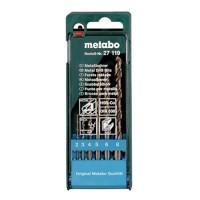 METABO Coffret de 6 forets métal HSS-CO - 627119000