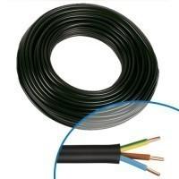 Câble électrique R2V 3G2.5mm² M/B/VJ - Couronne de 50m