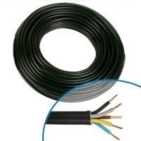 Câble électrique R2V 5G1.5mm² M/B/VJ - Couronne de 50m