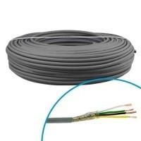 Câble blindé LiYCY 4x1mm² OMERIN - Couronne 100m