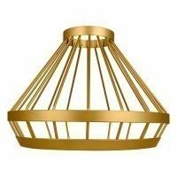 OSRAM Luminaire Pendulum Cage or design industriel Vintage Edition 1906