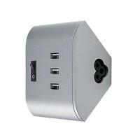 OSRAM Chargeur USB pour réglette LED sous-meuble Linear corner (3 x 5V) 1A 230V