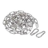 Kit de fixation par chaine et mousqueton pour suspension industrielle high bay L2m