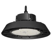 Suspension industrielle high bay 230V 150W 21000lm 4000°K noir