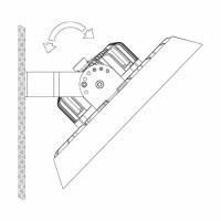 Kit de fixation en saillie pour suspension industrielle high bay