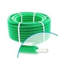 Gaine électrique ICTA préfilée câble TV 17VATC D20 Qofil - Couronne de 30m