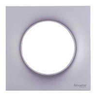 SCHNEIDER Odace Plaque simple alu - S520702E