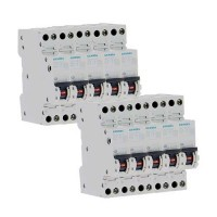 SIEMENS Lot de 10 disjoncteurs 16A Ph+N Courbe C 4.5kA 230V