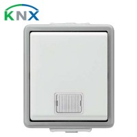 SIEMENS KNX Bouton poussoir simple lumineux en saillie IP44