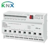 SIEMENS KNX Actionneur de commutation 8 sorties 16A et variateur 1-10V s N 262E