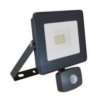 VISION-EL Projecteur extérieur LED extra plat à détection 230V 20W 1760lm anthracite - 80312
