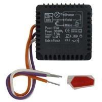 YOKIS Minuterie 2.2A 500VA micro-module encastrée - MTM500-E / 5454051