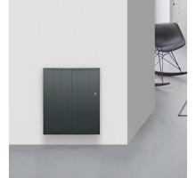 CHAUFELEC Manon Radiateur à inertie réfractite horizontal gris 1500W - BJN2225FTHS