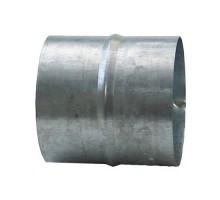 DMO Manchon de raccordement 80mm acier galvanisé