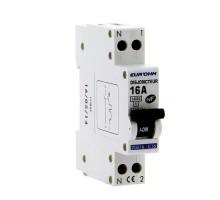 EUROHM Disjoncteur 16A 1P+N NF