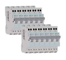 HAGER Lot de 12 disjoncteurs électriques AUTO 20A - MFS720