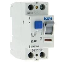 IKEPE Interrupteur différentiel 63A 30mA type AC 230V