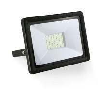 Projecteur extérieur LED extra plat 230V 50W 4500lm 4000°K noir