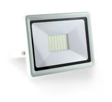 Projecteur extérieur LED extra plat 230V 50W 4500lm 4000°K blanc