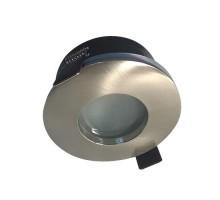 Spot LED encastrable IP65 82mm GU5.3 230V 5W 380lm 3000°K alu brossé