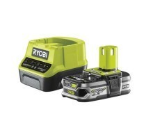 RYOBI Batterie 18V 1,5Ah et chargeur rapide 2Ah - RC18120-115
