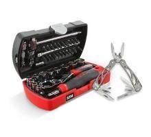 Coffret d'outillage douilles et embouts de vissage 39 outils SAM OUTILLAGE - POCKET-RJZ