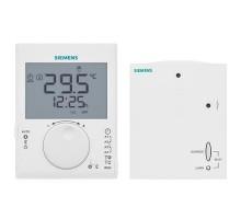 SIEMENS Thermostat d'ambiance programmable journalier sans fil + 1 récepteur