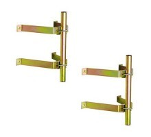 TONNA Fixation murale type ascenseur déport 270 mm (lot de 2)