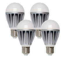 VERBATIM Ampoule LED E27 230V 10W(=60W) 820lm 3000°K - Lot de 4